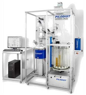 Destillation gemäß ASTM D 5236